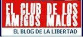 Logo para anunciar El club de los amigos malos en webs y blogs