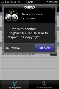 how to set custom ringtone on iphone 4