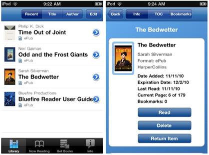 Bluefire Reader App