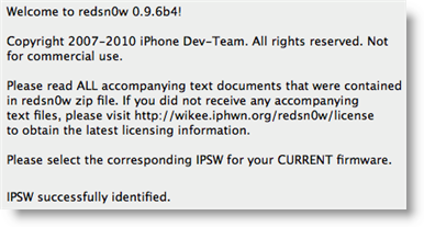 download Redsn0w 0.9.6b4
