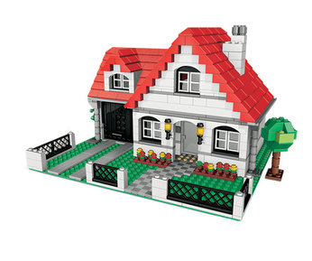 lego creator hillside house instructions