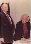 Grandma & Grandpa Pearce