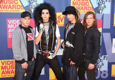 Tokio Hotel en MTV VMAS 2008