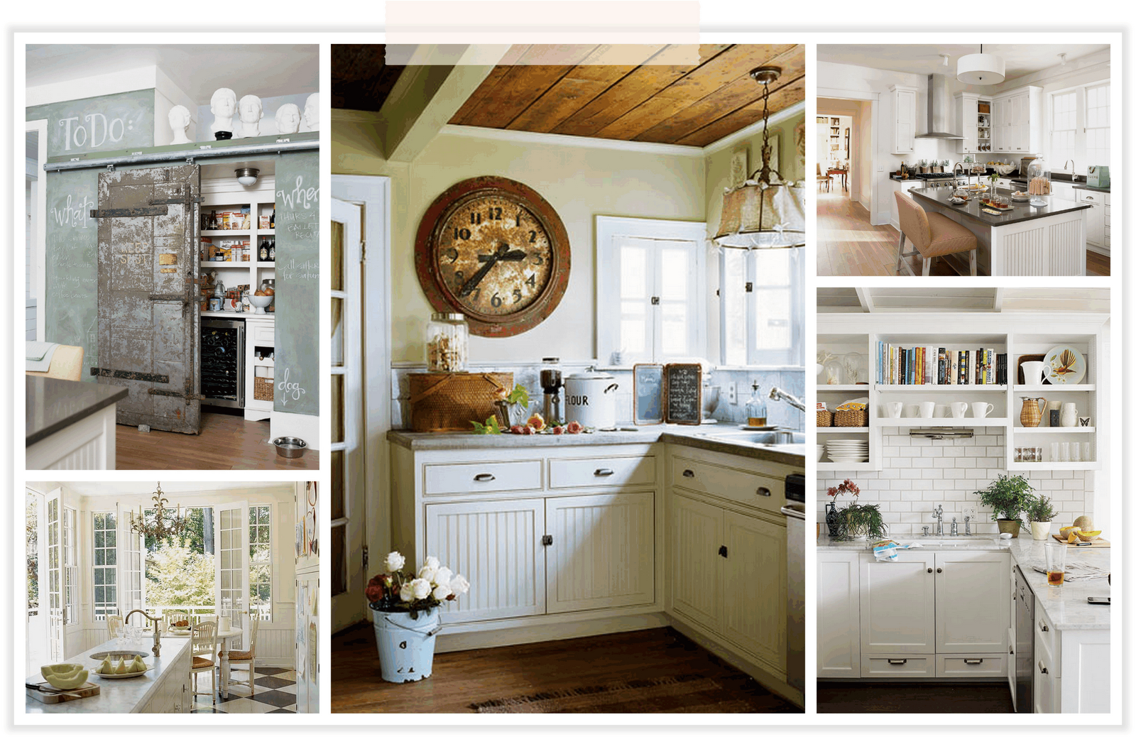 Http Hdimagelib Com Rustic Kitchen White Cabinets