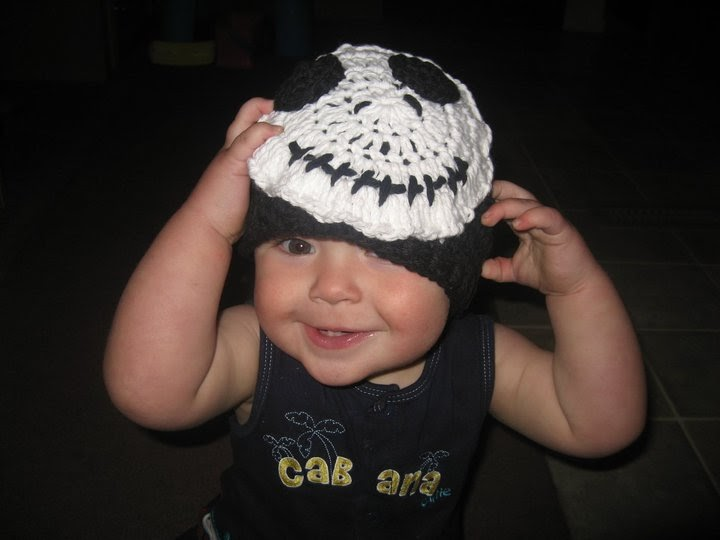 Crochet Pattern For Jack Skellington Hat : Girl in Air BLOG: Jack Skellington Hat Tutorial