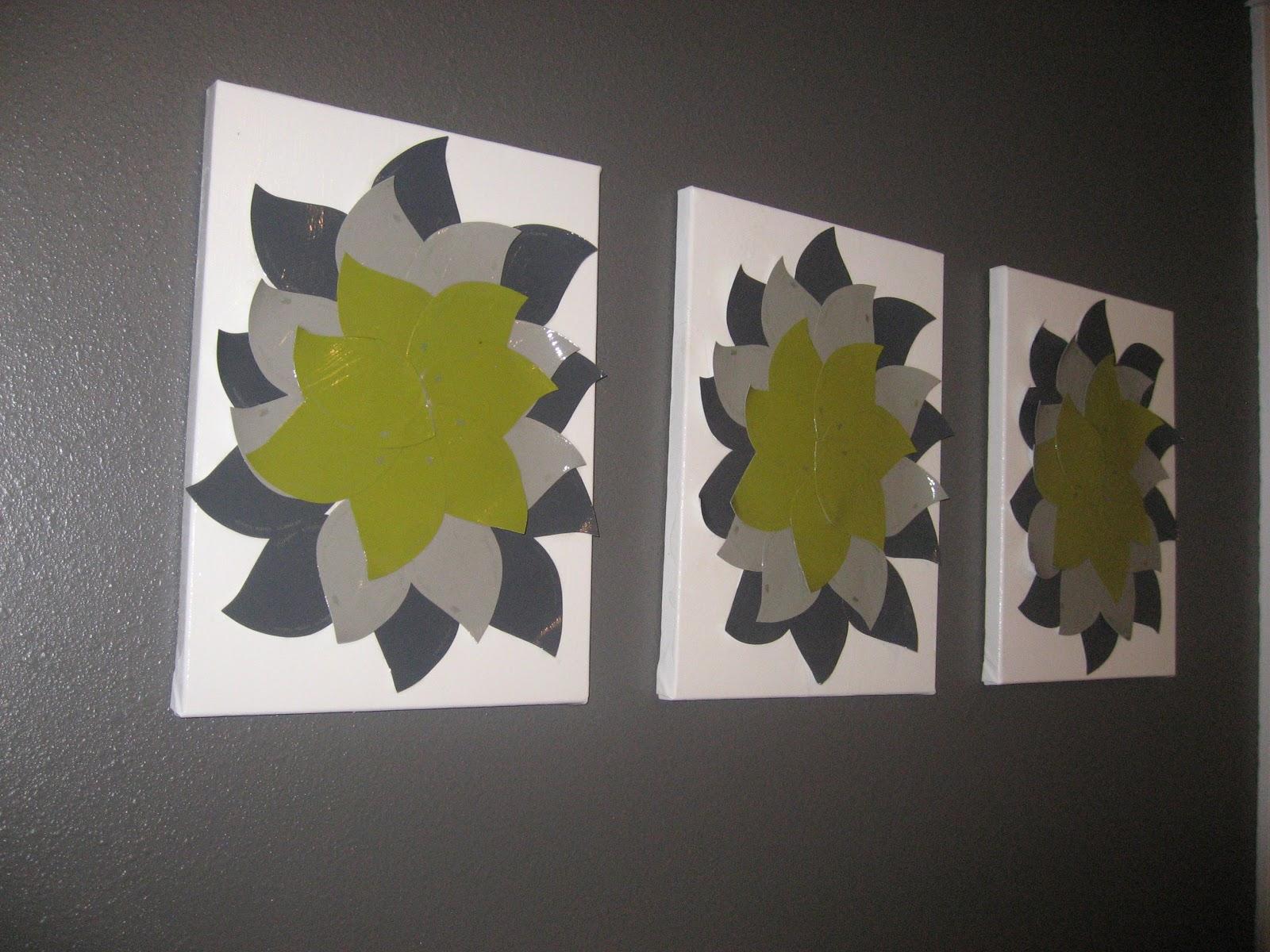 Girl In Air Blog Paint Sample Flower Wall Art