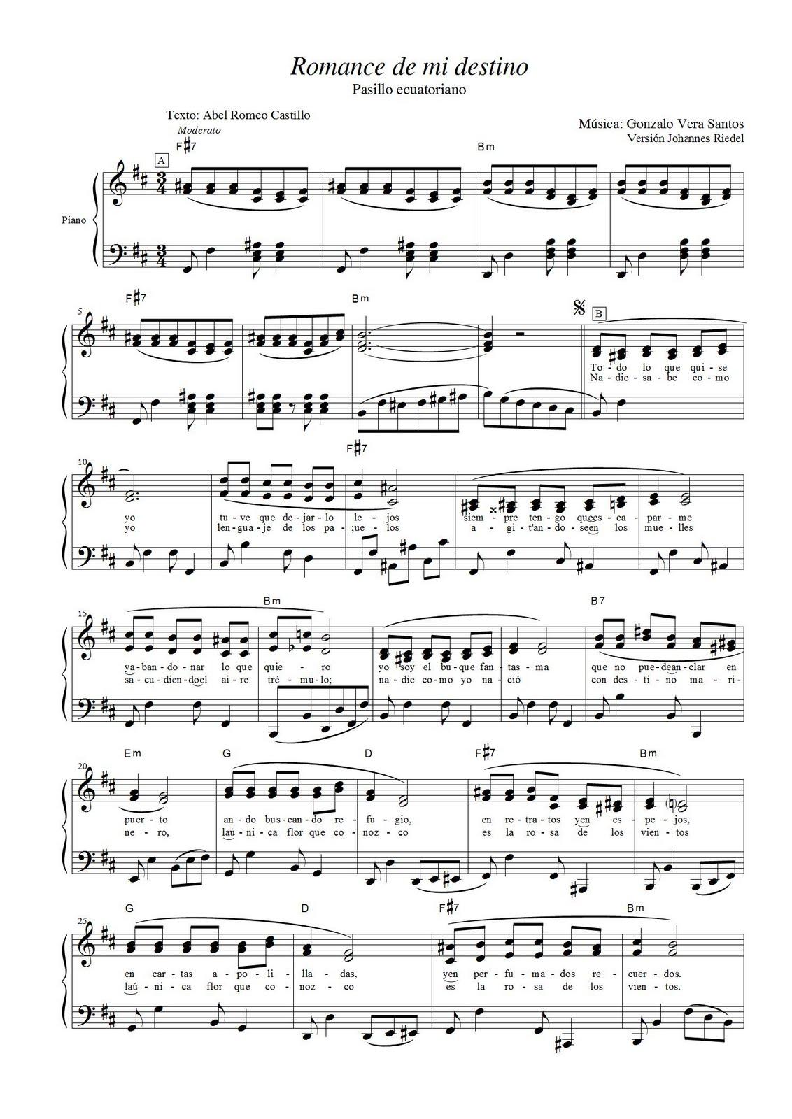 (Para ver e imprimir en formato grande dar un click sobre los gráficos de  las partituras)