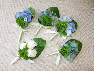 Hydrangea Flowers on Hydrangeas Were The Featured Flower Which Went Perfectly With The