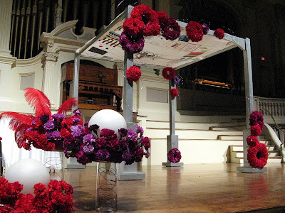 Red and Purple Wedding Part 2 The Chuppah