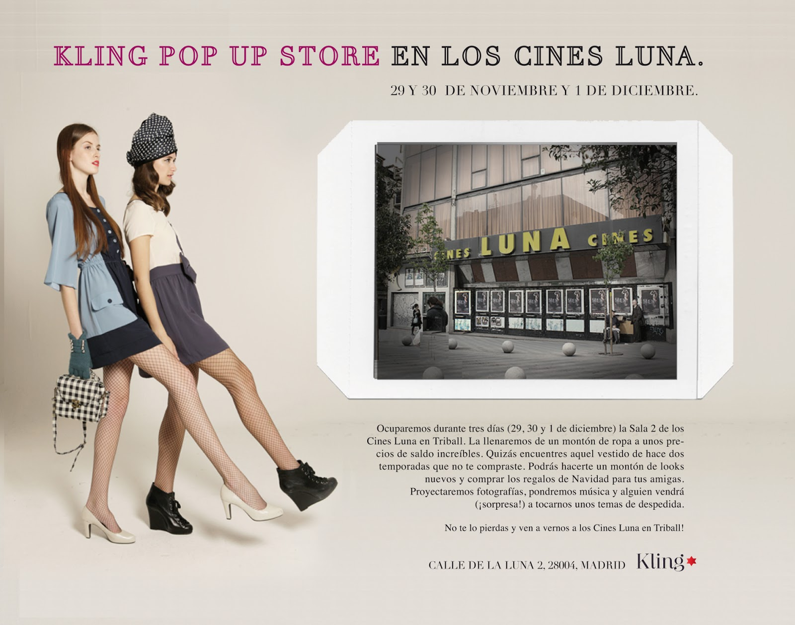 Outlet Kling Pop Up Store
