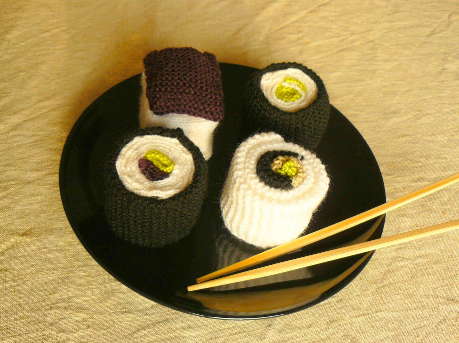 Bewuste eenvoud sushi breien - Idee voor volwassenen ...