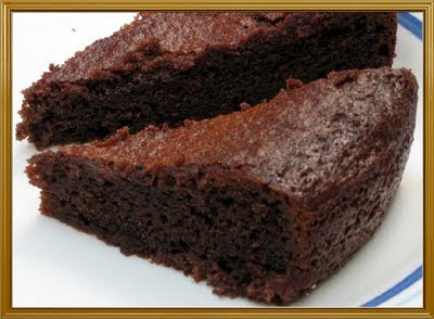 Cake With Chocolate Condensed Milk : Simple Vegetarian Recipes: Eggless Chocolate cake with ...