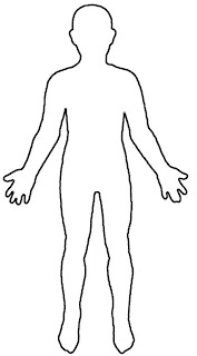The drew patch outline of the human body today i wanted an outline of the human body to label with zulu words so we can learn them more easily this was the best one i found during internet ccuart Images