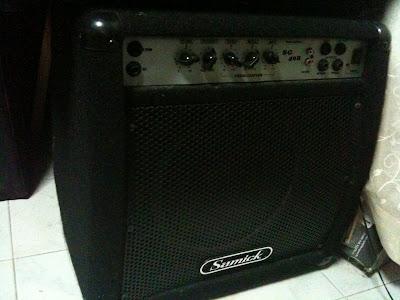 Samick Bass Amp Samick Sg40b Bass Amplifier