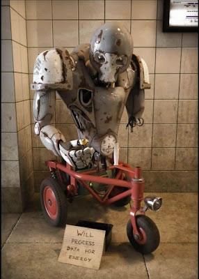 Domesro Homeless Domestic Robots