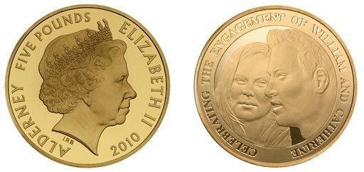 william and kate engagement coin. Kate has finally done it after