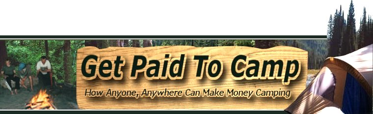Get Paid to Camp
