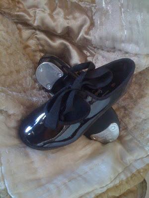 dance shoes tattoo. She said Payless Shoes,