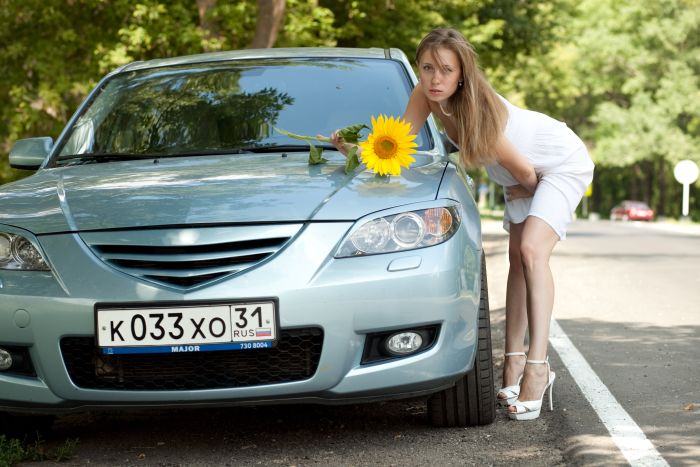 For russian woman ca cars