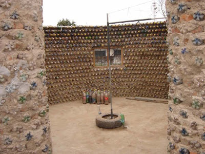 Bottle House Built in Mexico