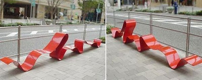Unusual and Creative Benches Seen On www.coolpicturegallery.net