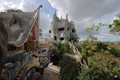 Hang Nga's Crazy House In Dalat, Vietnam Seen On www.coolpicturegallery.net