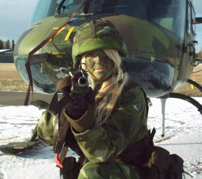 Beautiful Military Women Around the World Seen On www.coolpicturegallery.net