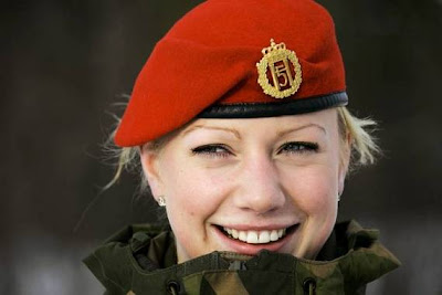 Beautiful Military Women Around the World