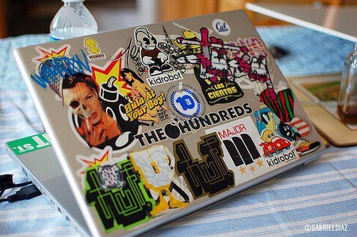 Как красиво украсить ноутбук