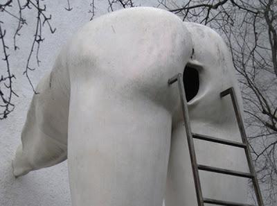Bizzare Sculptures by David Cerny
