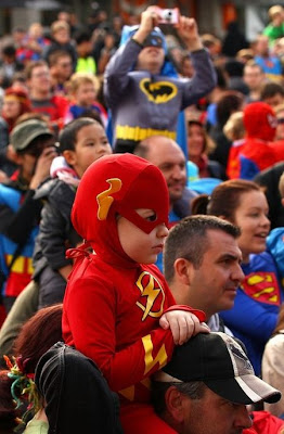 Melbourne Superhero Costume Record