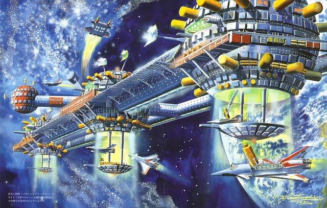 Art Bodypainting Wallpaper 35 Retro Sci Fi Illustrations