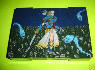 Painted Game Consoles