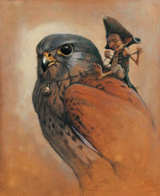 Drawings of Elves by  Jean-Baptiste Monge Seen On www.coolpicturegallery.net