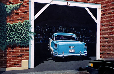 Vividly Realistic 3D Murals by Eric Grohe