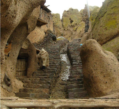 Strange village in Afghanistan