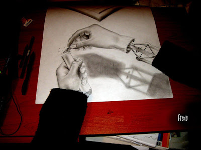 Beautiful 3D Drawings