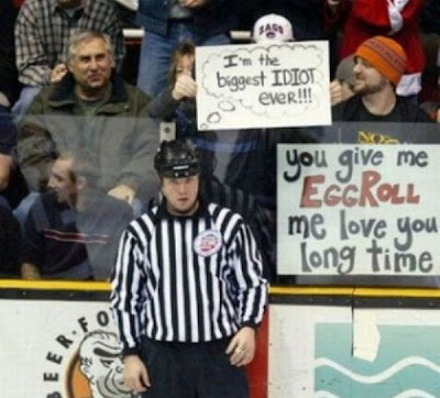 Funny sports signs ever
