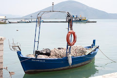 Fishing boat in the Ionian