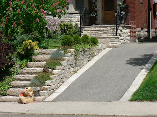 Total home contractors ltd driveways and landscaping for Steep driveway construction