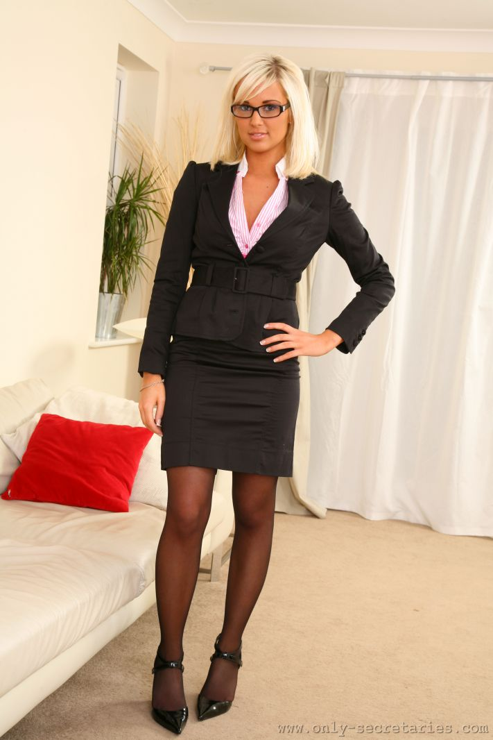 Suit And Pantyhose Is The 117