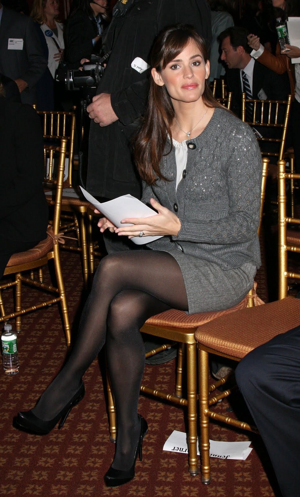 celebrities in pantyhose