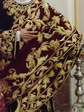 Mantolín Bordado de San Juan Evangelista