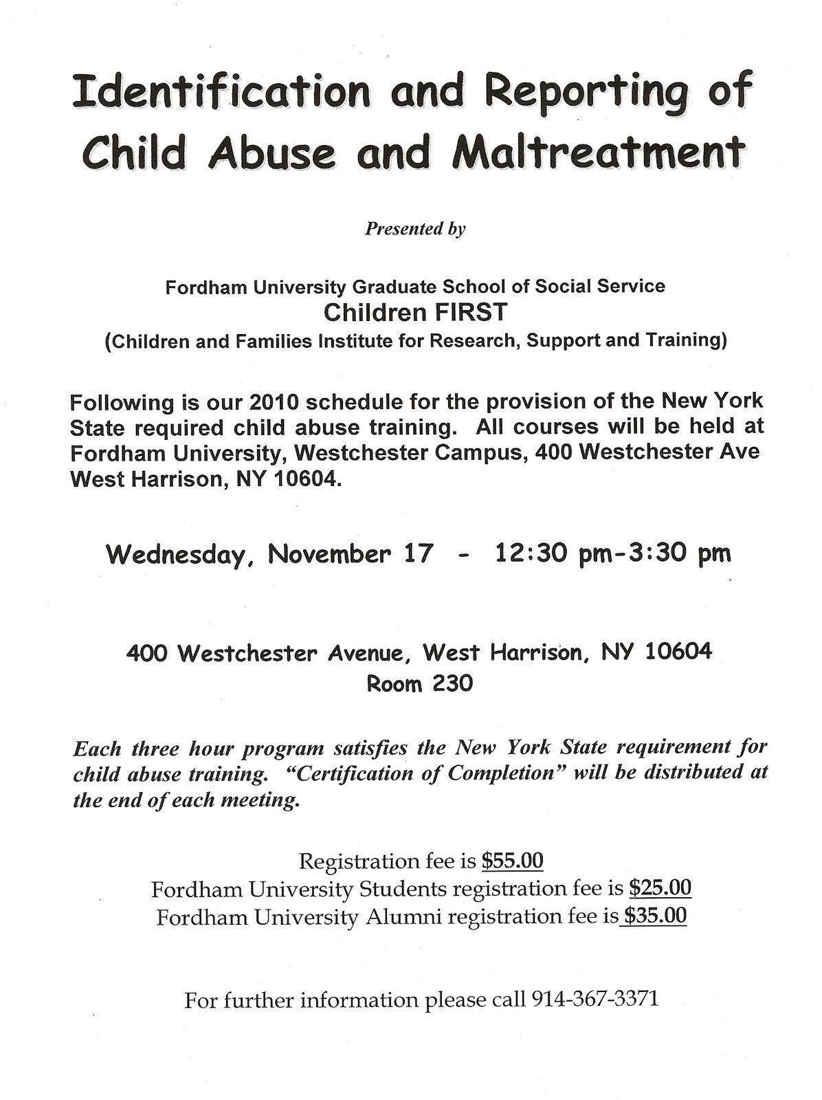 Gss news and views october 2010 identification and reporting child abuse and maltreatment sponsored by children first date wednesday november 17 time 1230 pm 330 pm location 1betcityfo Image collections