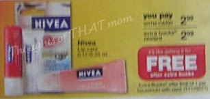 Nivea Lip Care Free ECB CVS Thoughts of THAT Mom