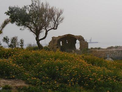 развалины крепости крестоносцев