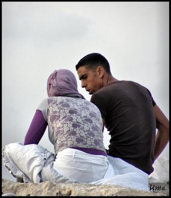 арабское свидание на берегу моря