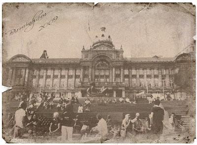 старинная фотография, старая открытка