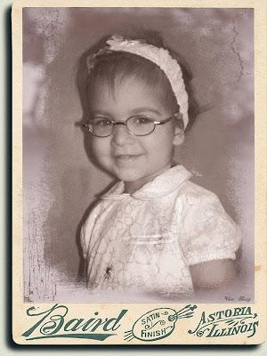 старинная детская фотография