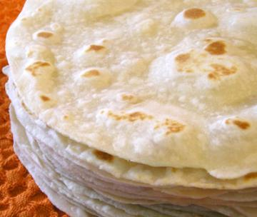 Receta:tacos mexicanos.